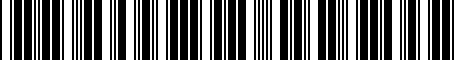 Barcode for PT27834072